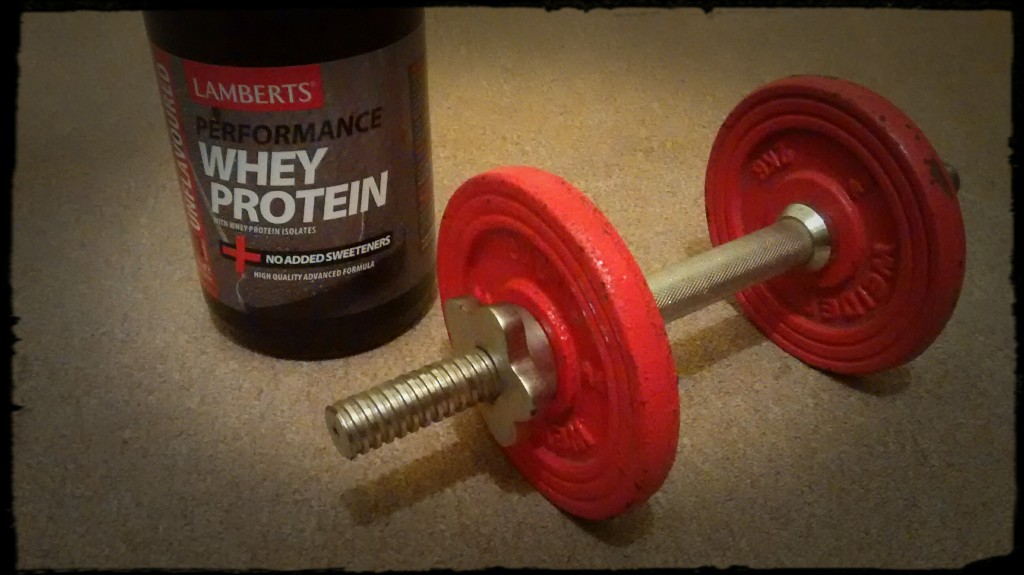 A high protein diet and resistance training can stimulate metabolic rate and cause fat loss without the need to restrict calorie intake.