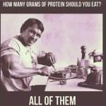 Arnold Schwarzenegger Protein