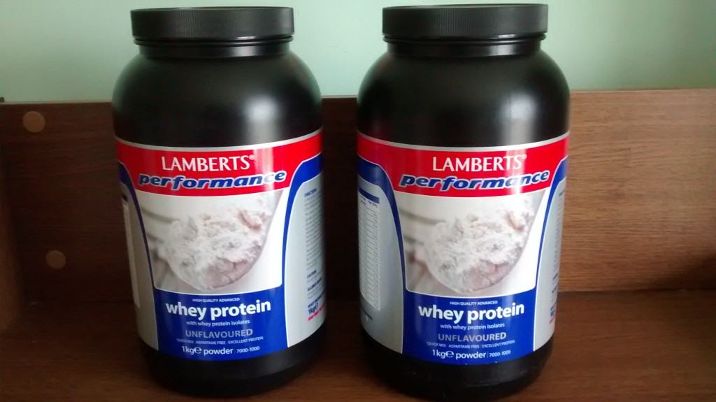Whey protein is more rapidly absorbed than casein when the stomach contents are empty.
