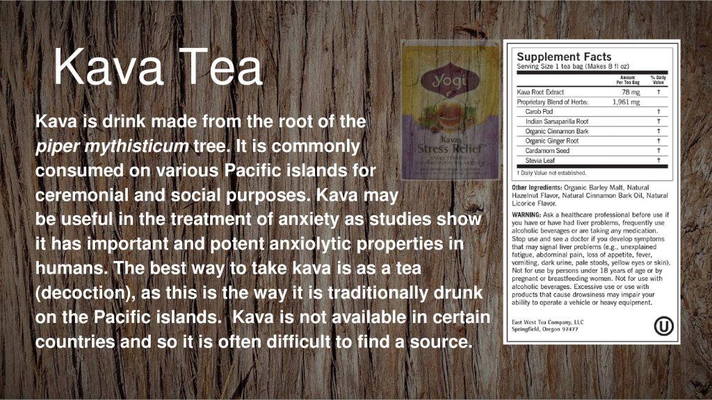 how to take kava powder