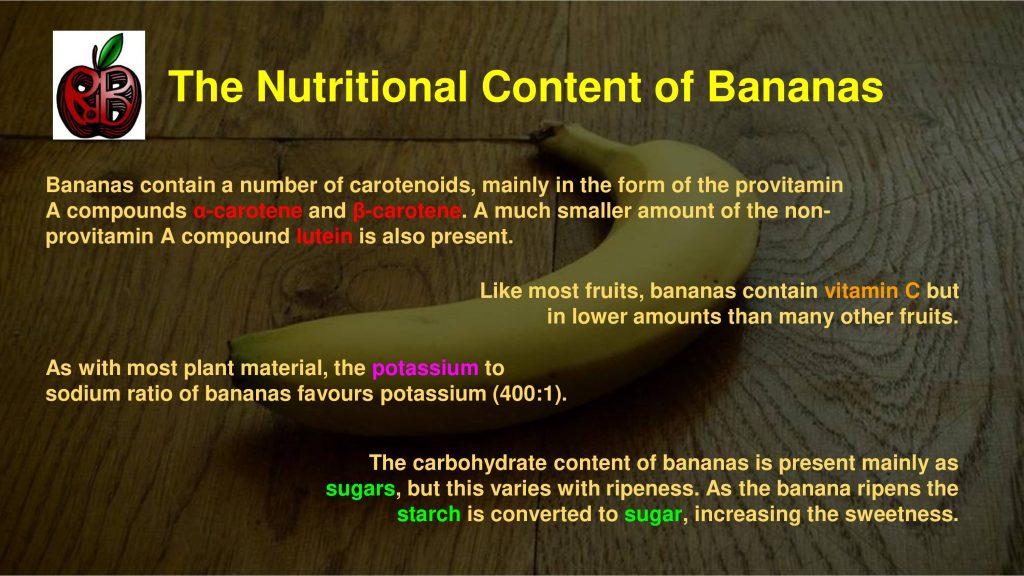 bananas potassium