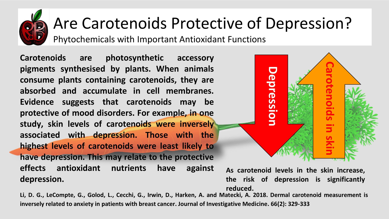 carotenoids antioxidant anxiety depression