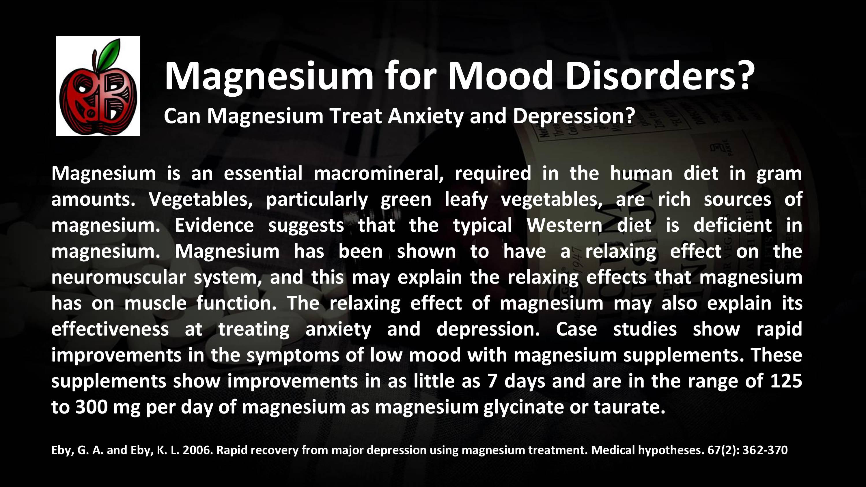 magnesium mood