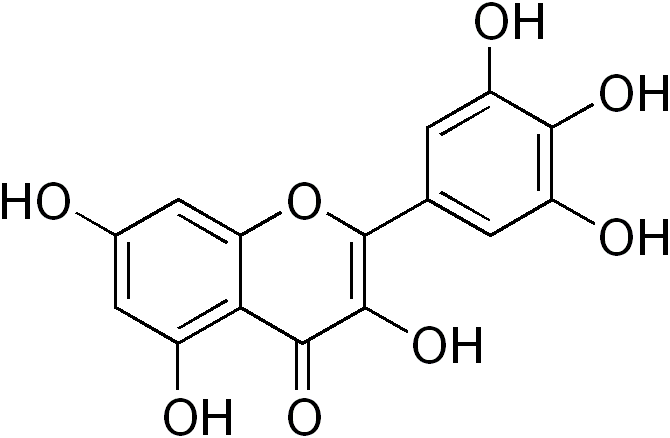 myricetin anxiety depression