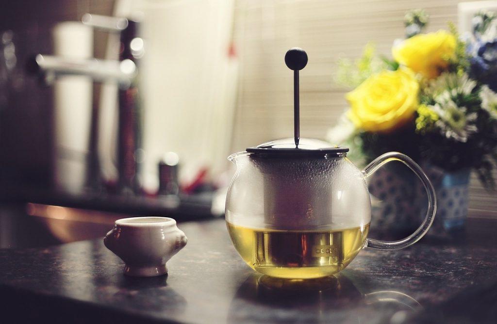 green tea depression