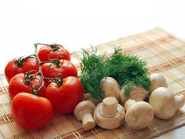 mushrooms vitamin d